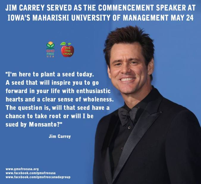 jim carey monsanto