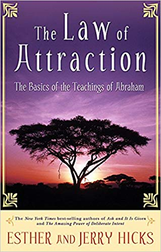 law of attraction book cover
